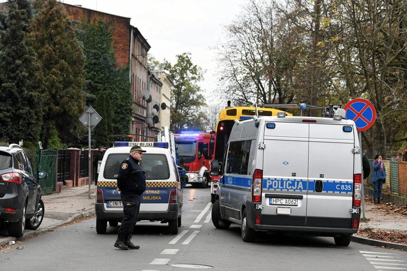 Tragedia w Inowrocławiu. Nie żyje matka z trojgiem dzieci
