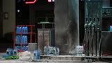 Dramat w Gdańsku. Mężczyzna podpalił się na stacji benzynowej