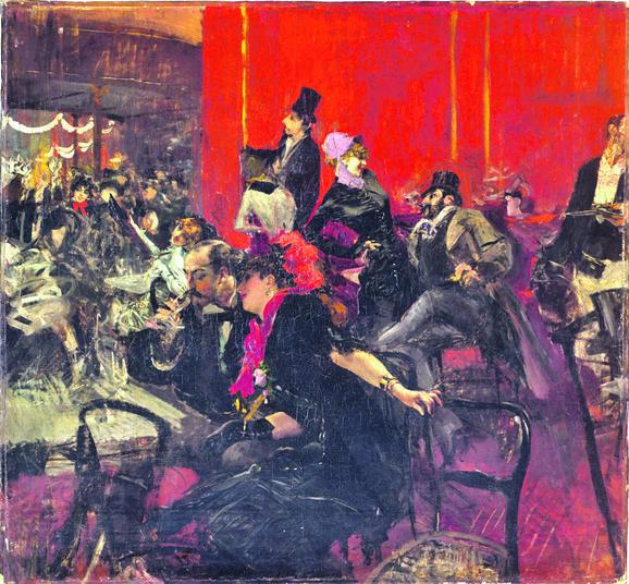 Đovani Boldini, Žurka u Mulen ružu, oko 1889