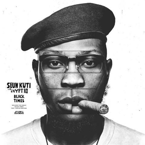 """On """"Black Times"""", Seun Kuti talks about conscious topics such as a failure in leadership and underachieving African governments."""