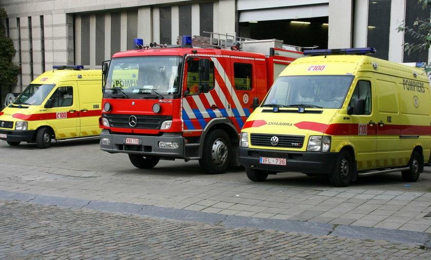 Pożar ciężarówek w Antwerpii. Polski kierowca zginął w płomieniach