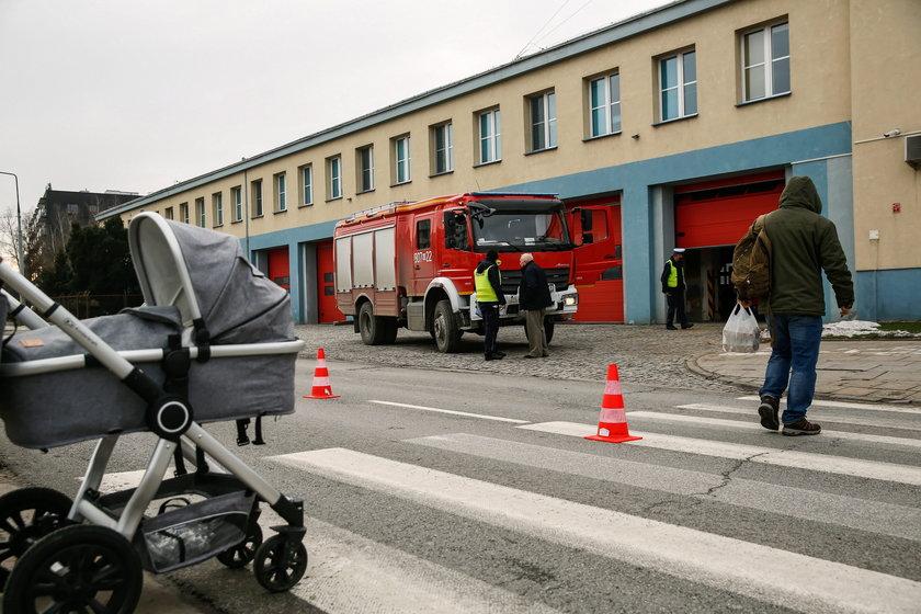 Straż pożarna przejechała kobietę w Warszawie!