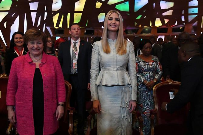 Ivanka Tramp u Africi