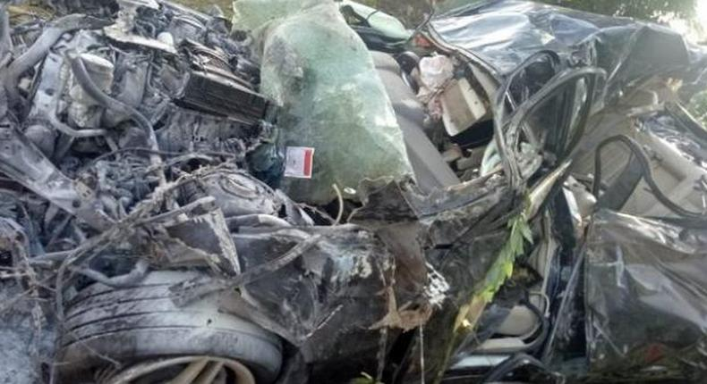 File Image: Vehicle involved in a grisly accident