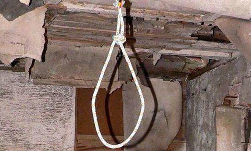 wisielec, matka, śmierć, ciało, samobójstwo, choroba, syn, powiesił się