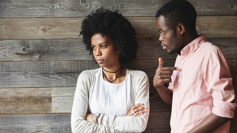 If the negative energy in the relationship just keeps going all the way up, it'll be only a matter of time before the relationship ends [Credit - iStock]