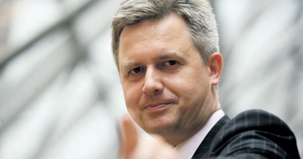 Jarosław Zagórowski, prezes zarządu Jastrzębskiej Spółki Węglowej Fot. Andrzej Wawok