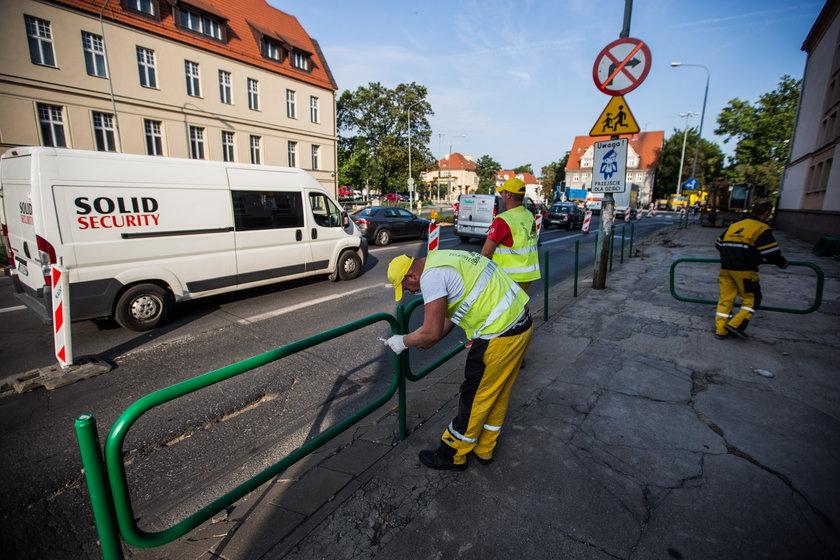 Ruszył remont skrzyżowania Niepodległości/Solna