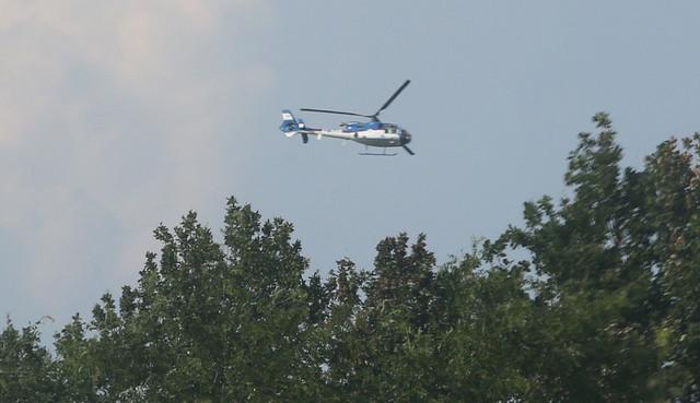 Imanje je sve vreme nadletao helikopter  foto:D. Božić