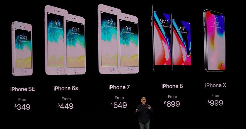 iPhone 8 i iPhone X mają kosztować kolejno 699 i 999 dolarów