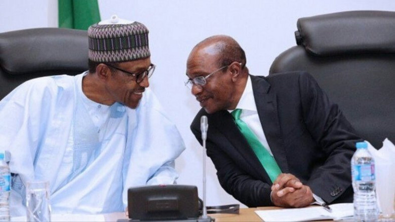 President Muhammadu Buhari and the CBN Governor, Mr. Godwin Emefiele