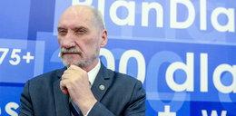 """Macierewicz wypomina """"mafijną"""" przeszłość wiceprezydentowi"""