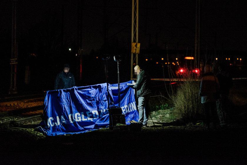 Naczelnik Straży Miejskiej zginął przechodzą przez tory