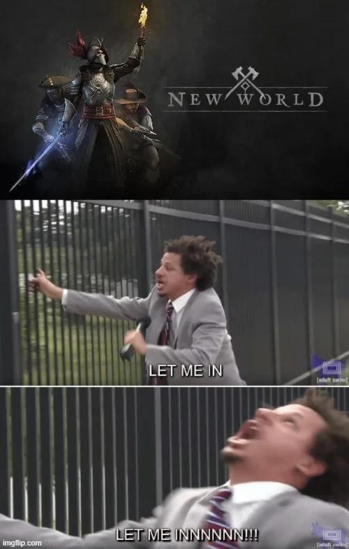 Všetci sa teda môžu zhodnúť na jednom: Pusťte nás si New World konečne zahrať!!!