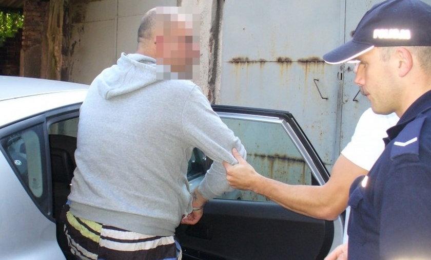 Taksówkarz uprowadził i chciał zgwałcić swoją była dziewczynę