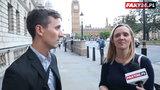 Chcieliśmy nagrać wrogów Unii w Londynie. Duże zaskoczenie...