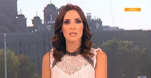 """Nova voditeljka televizije """"Prva"""" oduševila svojim stajlingom: Svima je zapala za oko jedna stvar! FOTO"""