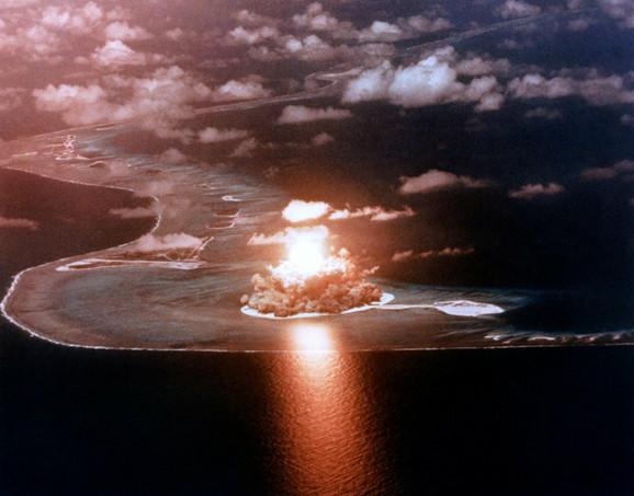 Nuklearna eksplozija na Maršalskim ostrvima