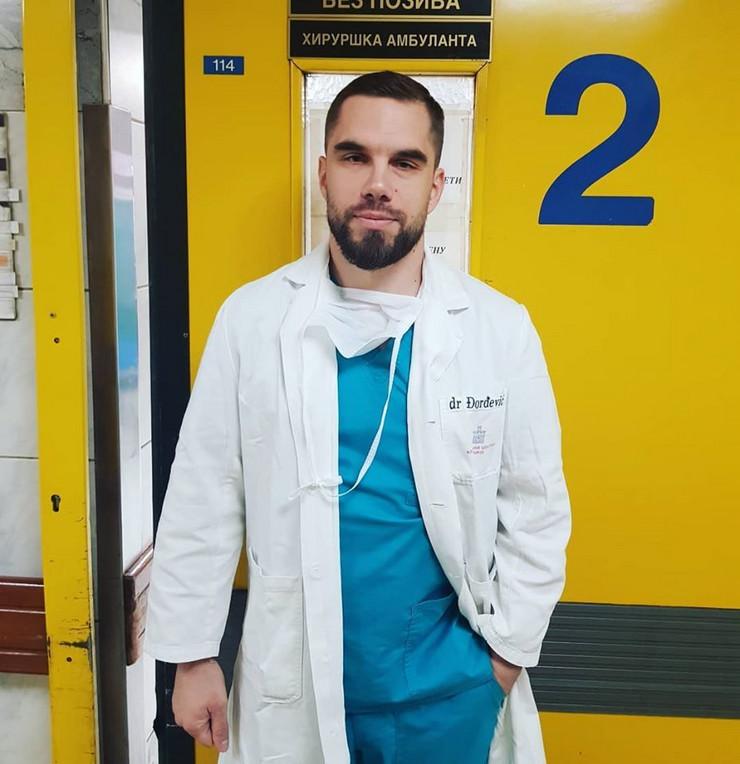 Hirurg Kliničkog centra Srbije Milan Đorđević