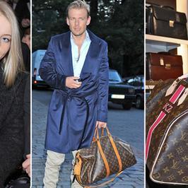 Gwiazdy z torebką Louis Vuitton