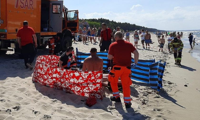 22-latek utonął w Zatoce Gdańskiej.