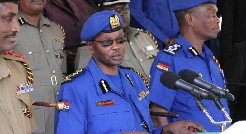 IG Joseph Boinnet and a few county commanders in the new police uniform (Twitter)