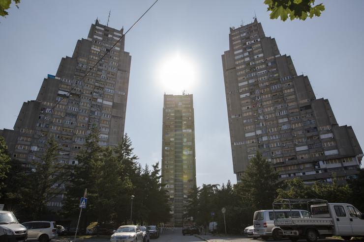 Istočna kapija Beograda Rudo zgrade Rudo 1 2 3
