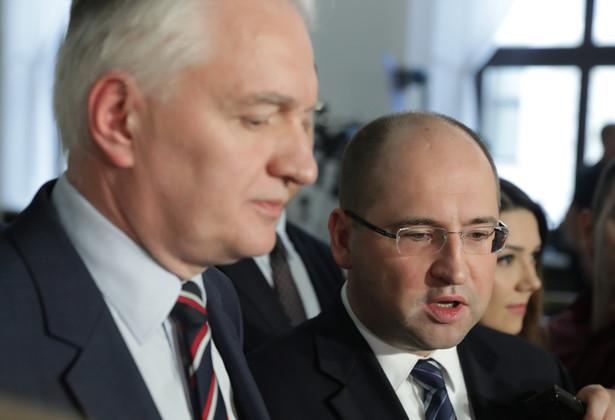 Jarosław Gowin i Adam Bielan