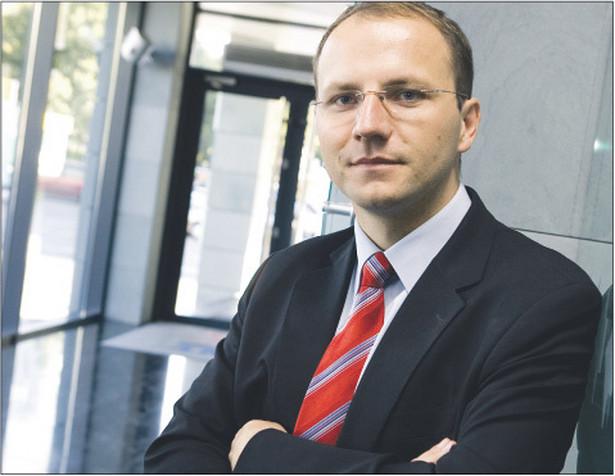 Szymon Parulski, doradca podatkowy w Kancelarii Parulski i Wspólnicy Doradcy Podatkowi Fot. Wojciech Górski