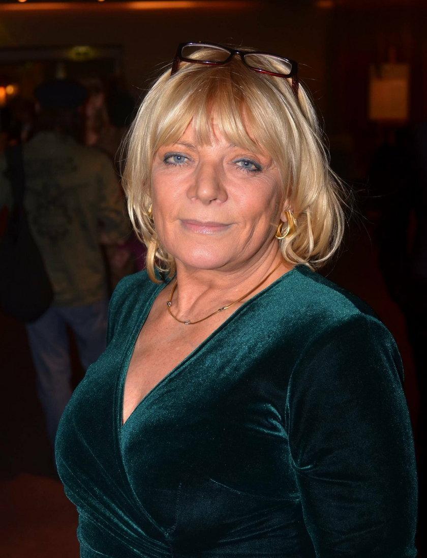 Dorota Stalińska w grudniu 2011 roku