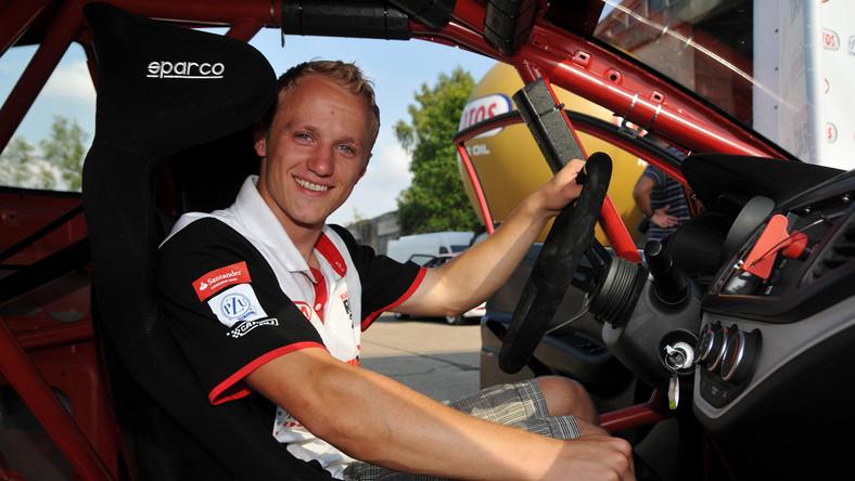 Grzegorz Kubat, zwycięzca ubiegłorocznego konkursu Kia Lotos Race 2011