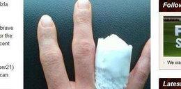 Uciął sobie palec, byle jeździć. Kto?