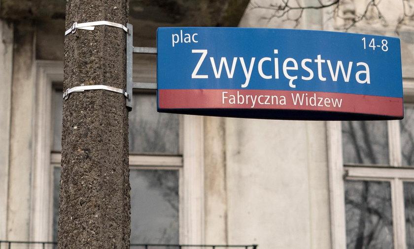 Plac Zwycięstwa w Łodzi już nie jest Placem Lecha Kaczyńskiego. Radni zmienili nazwę nadaną przez wojewodę