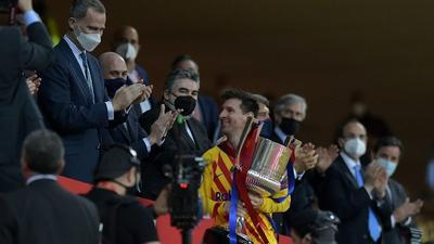 Copa del Rey win was 'turning point' for Barcelona: Messi