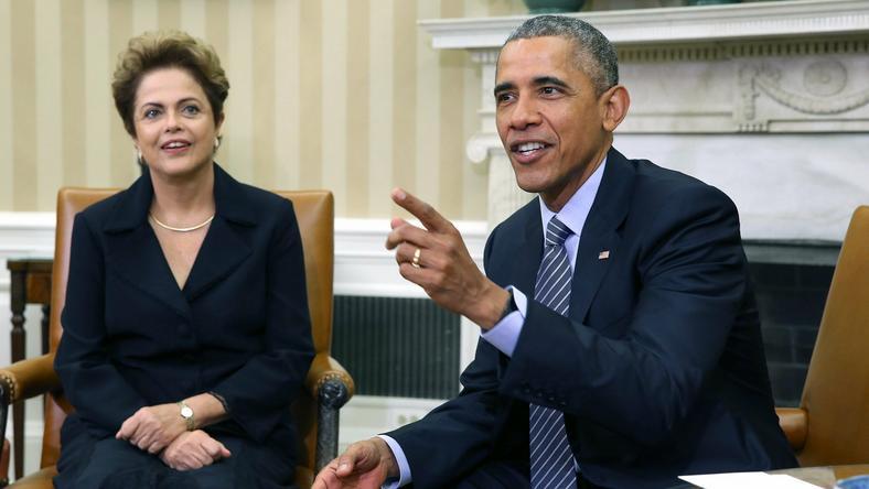 Barack Obama i Dilma Rousseff