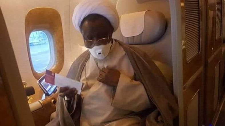 IMN confirms El-Zakzaky's return, insists cleric did not refuse treatment in India. (BBC)