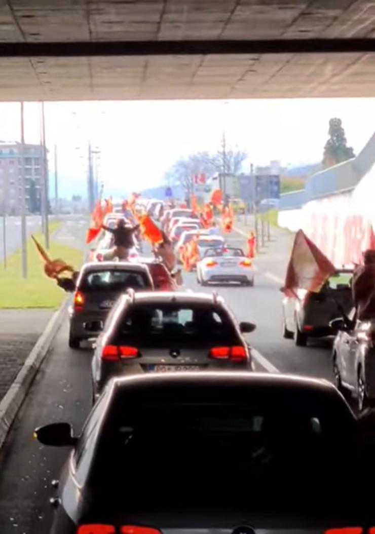 Auto kolona Podgorica