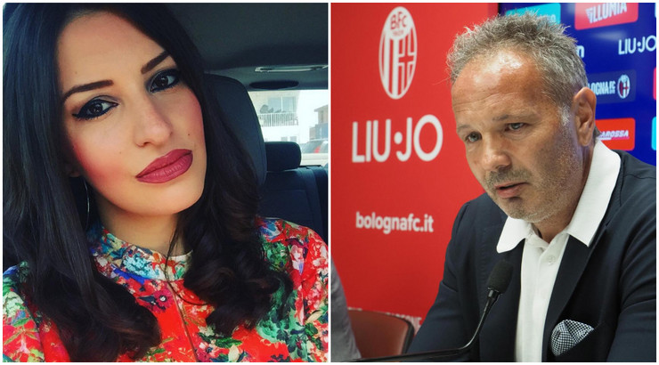 Nikolina Radunović i Siniša Mihajlović