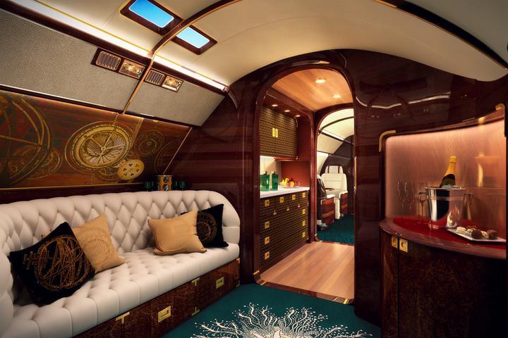 ... bo nawiązuje wzornictwem do luksusowego jachtu.
