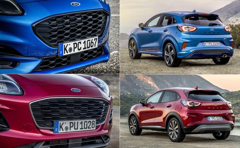 Ford Puma może mieć różne oblicza. Wersja ST-Line jest bardziej zadziorna i ma ciekawsze zawieszenie. Titanium wygląda spokojniej i tak też zachowuje się na drodze