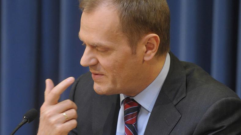 Tusk rozpoczyna już kampanię prezydencką