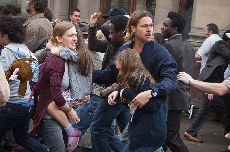 """World War Z"" - kadr z filmu"