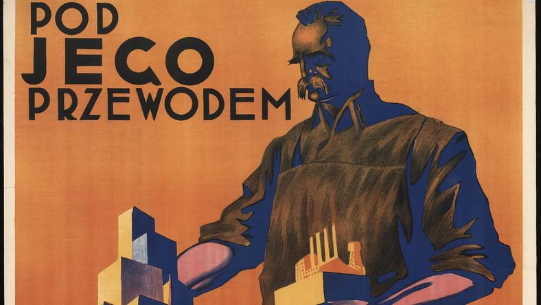 """""""Pod jego przewodem zbudujemy potężną Polskę"""", Stefan Norblin, 1930 CZYTAJ DALEJ I ZOBACZ KOLEJNE REPRODUKCJE >>>"""