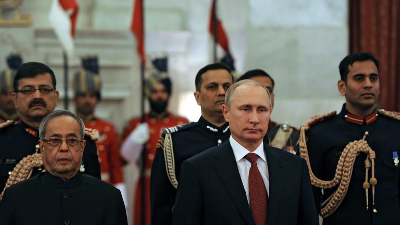 Władimir Putin w Indiach