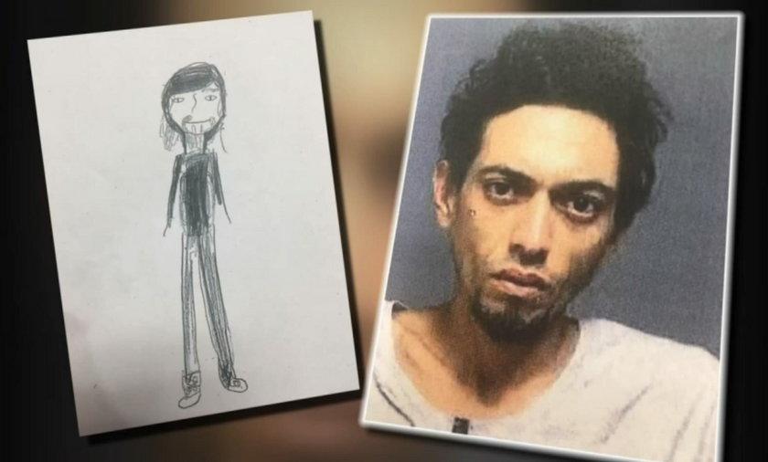 11-latka narysowała zabawny portret pamięciowy. Pomógł policji złapać złodzieja