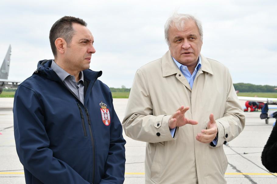 Aleksandar Vulin i Dragan Bujošević
