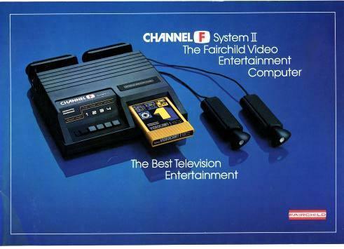 Fairchild Channel F - pierwsza konsola z grami na wymiennych kartridżach