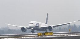Dreamliner przyleciał do Poznania