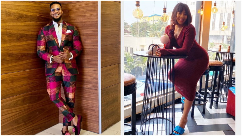 Nigerian celebrities have found their way around TikTok and some of them have been interesting on the app [Instagram/KunleRemi] [Instagram/LilianEsoro]