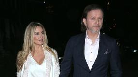 Radosław Majdan z żoną na pokazie MMC